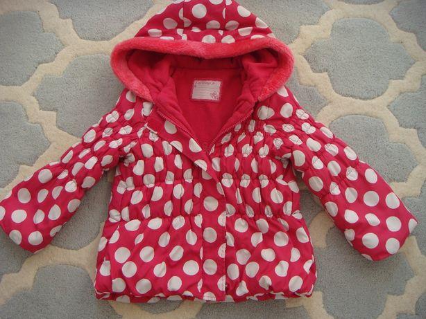 kurtka na polarze dla dziewczynki roz. 98/104