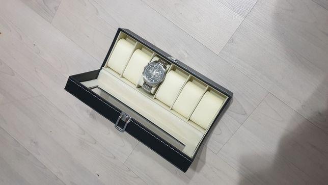 Caixa de guardar 6 relógios