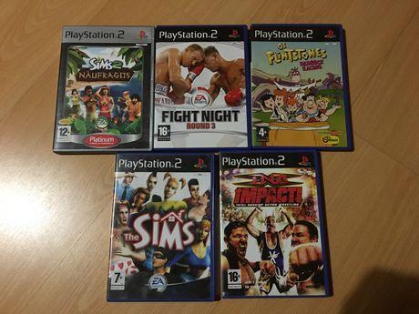 Vários Jogos PS2