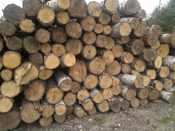 Drewno stosowe buk, brzoza, grab, wałki kominkowe opałowe metry