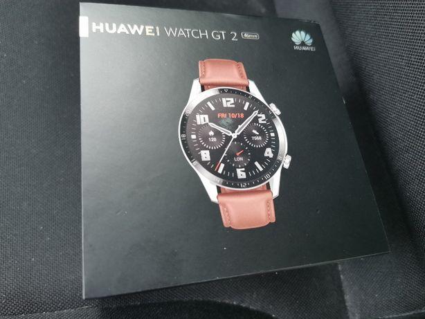 NOWY Smartwatch Huawei Watch GT 2 46mm Classic srebrny Komputronik