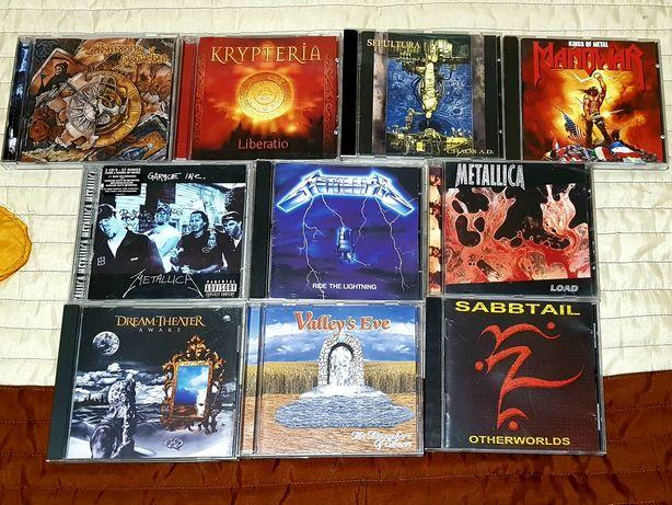 Lote de 10 CDs - Metal (Portes Grátis)