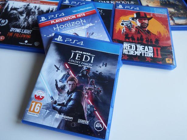 PS4 Star Wars JEDI Fallen Order DUBBING PL stan bardzo dobry inne gry