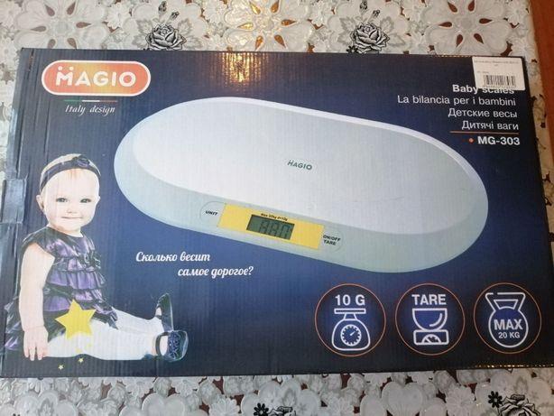 Дитячі ваги для немовлят