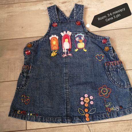 Sukienki dziecięce  62-68