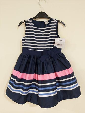 Платье carter's/carters/картерс/нарядное платье/пышное платье/24мес