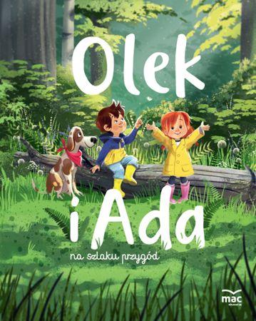 Olek i Ada- książka 5,6-latki