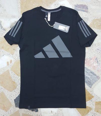 Футболка adidas адидас черная спортивная