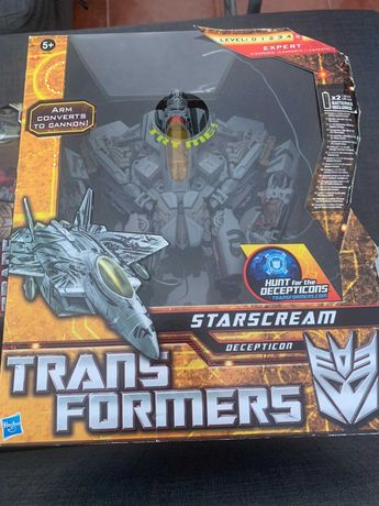 TRANSFORMERS Starscream Decepticon Leader Class Revenge of the Fallen