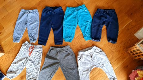 Zestaw spodnie długie 86 Reserved, Next, Okaidi, hm dla chłopca