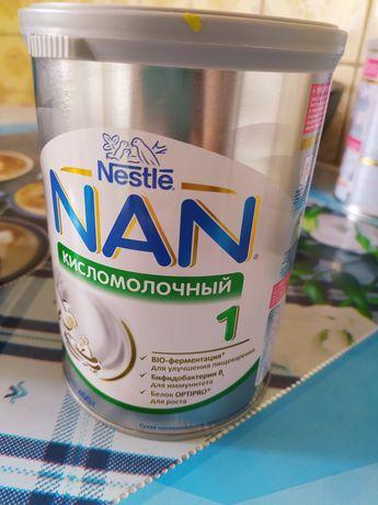 Детская смесь NAN кисломолочный 1