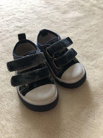 Кеды кроссовки детские джинсовые новые