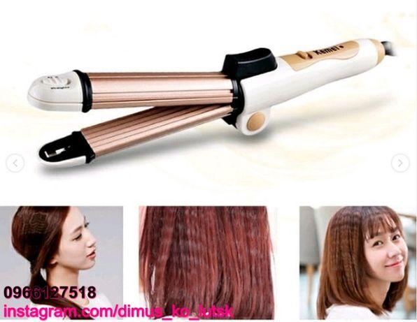 Стайлер 3в1 утюжок, плойка, выпрямитель для волос Корея