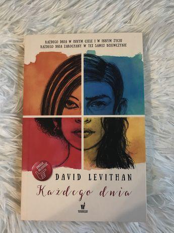 Książka ,,Każdego dnia'' David Levithan
