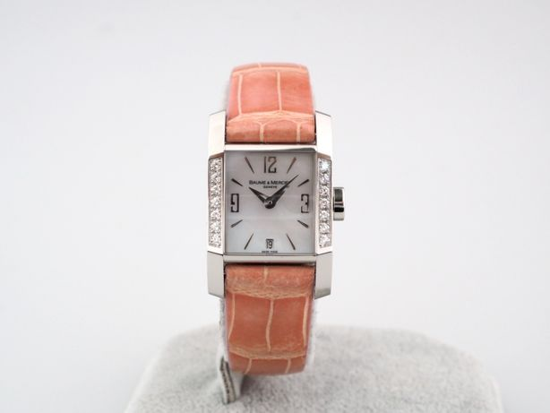 женские бу часы Baume & Mercier Hampton Diamond