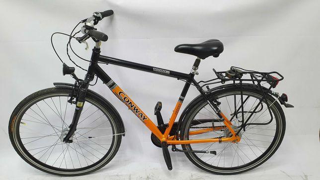 Piękny jak NOWY  rower męski Conway 8 biegów Shimano  Nexus 28'' Alu