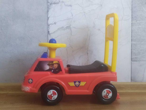 Strażak Sam jeździk wóz strażacki