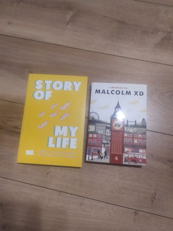 Wymienię dwie książki dla nastolatków/dorosłych malcolm XD story of my