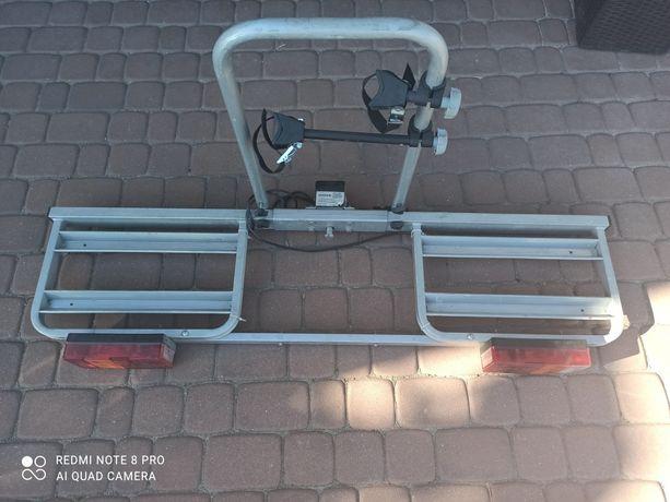 Sprzedam bagażnik rowerowy na hak na dwa rowery