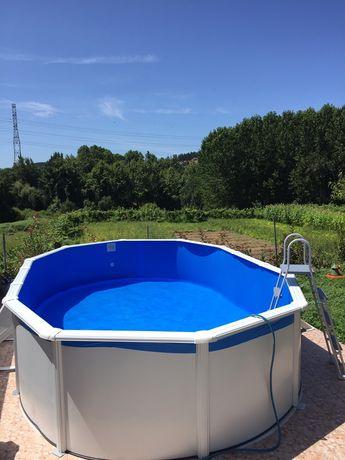 Montagens de piscinas