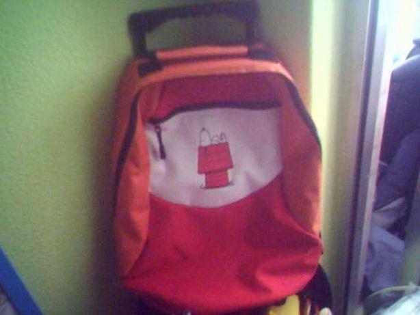mala escolar infantil Snoopy NOVA