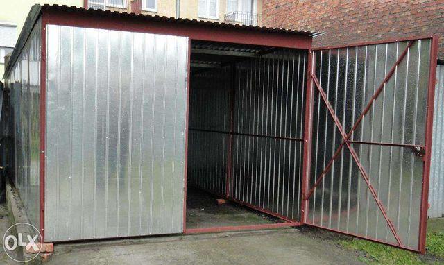 GARAŻ 3x5 ocynk garaże blaszane TRANSPORT montaż Gratis cała Polska