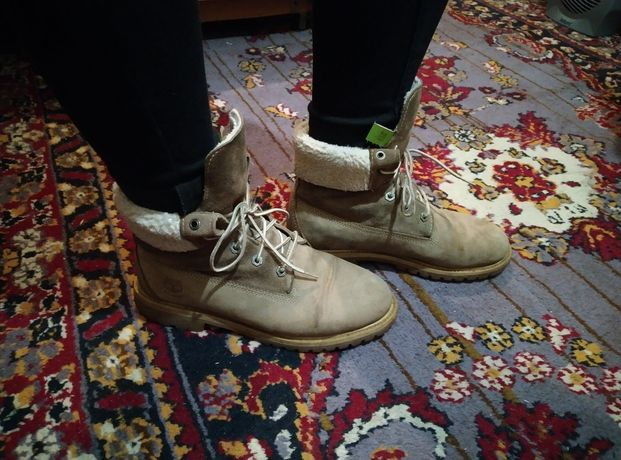 Ботинки Timberland Women's Teddy Fleece Fold Down Waterproof Boot