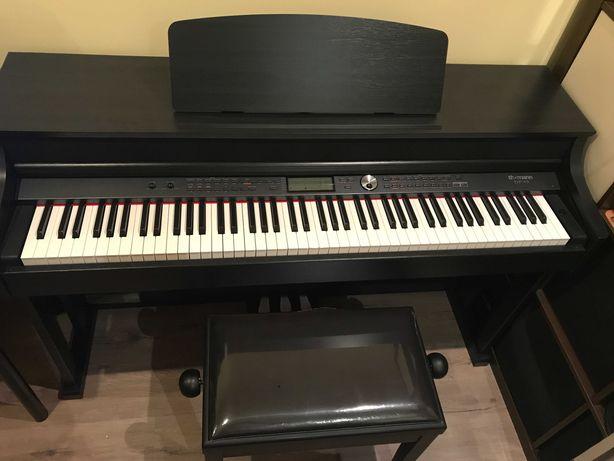 Piano digital Thomann DP-95 + Banco
