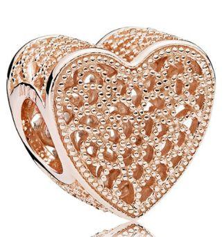 Zawieszka Charms Pandora Rose Ażurowa miłość 781811 serce |Plus Lombar