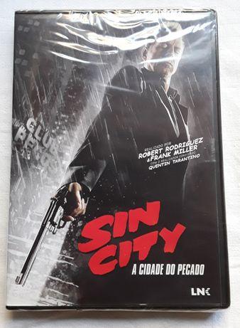 Filme original em dvd, Sin City - A Cidade do Pecado (selado)