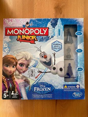 Gra Monopol Junior Frozen