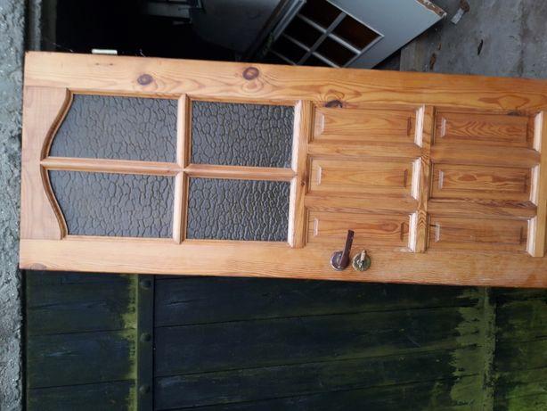 Drzwi wewnętrzne 70 Naturalne drewno
