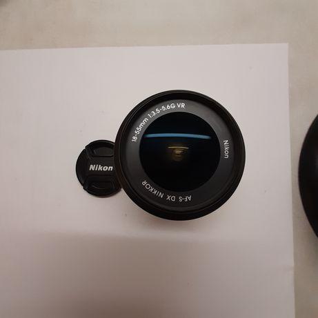 Nikon obiektyw 18-55mm Nikkor