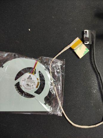 Cooler cpu e cabo VGA Toshiba satélite S50-B