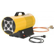 Aquecedor a gáz Butano/Propano Master BTU's Com bateria de litio