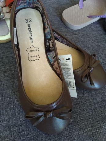 Nowe buciki r32 balerinki,