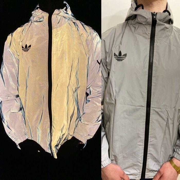 Демисезонная рефлективная куртка Adidas Yeezy Reflective Jacket! ХИТ! Киев - изображение 1