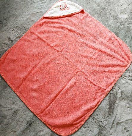 Ręcznik kąpielowy z kapturkiem dla niemowląt Zwoltex