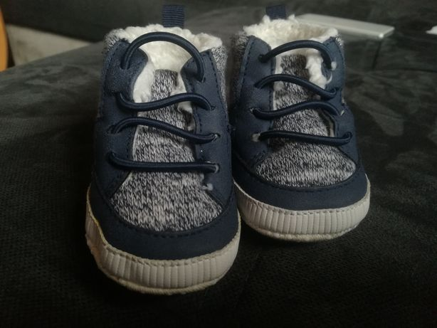 Ocieplane buciki niemowlęce niechodki