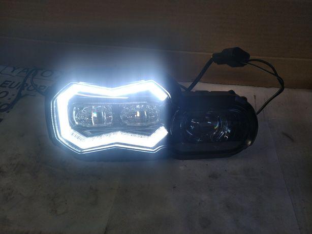 Nowy model! Lampa reflektor BMW F800GS F700GS F650GS F800R Full LED