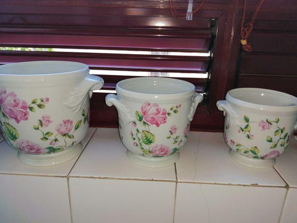 Vasos cachepots Vista Alegre