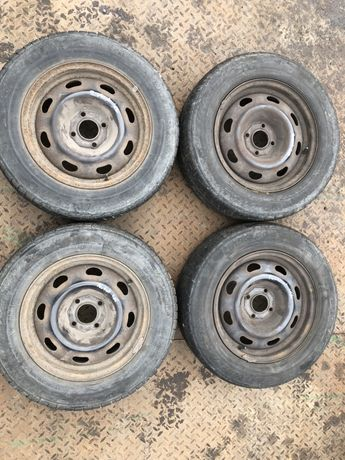 Koła Felgi stalowe PEUGEOT 406 4x108 R15 KOMPLET 4 SZT