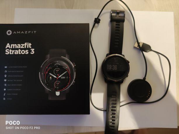 Smartwatch Xiaomi Amazfit Stratos 3 Czarny GPS