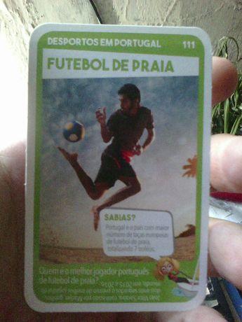 Futebol de Praia carta Pingo Doce