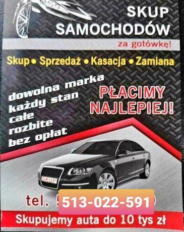 SKUP AUT Skup Samochodów Płacimy Najwięcej ZWROT OC 24h 7dni.