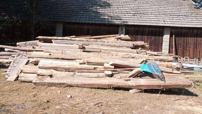 Drzewo, drewno sosna na opał suche