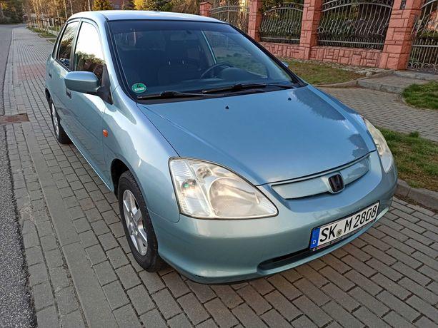 Honda Civic VII 2001 rok 1,4 benzyna 90 kM  214200 oryginał