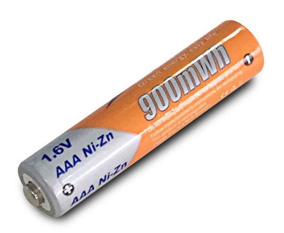 РЕАЛ ЕМК.900 мВтч Аккумуляторы цинк AAA Ni-Zn PKCELL 1.6V ААА аккумы