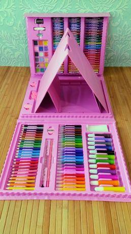 Набор для рисования творчества в чемодане Художественный набор