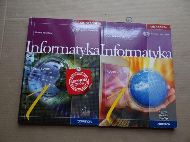 Informatyka podręczniki bardzo przydatne do nauki oddam za darmo.
